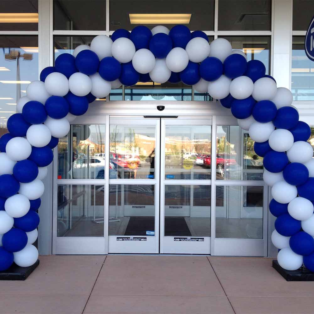 Spiral Packed Balloon Arch Nationwide Balloons