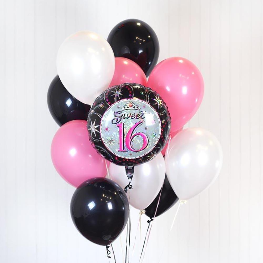 Verwonderlijk Sweet 16 Bouquet - Nationwide Balloons OY-64